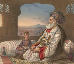 Dost Mahommed, King of Caubul, and his youngest son